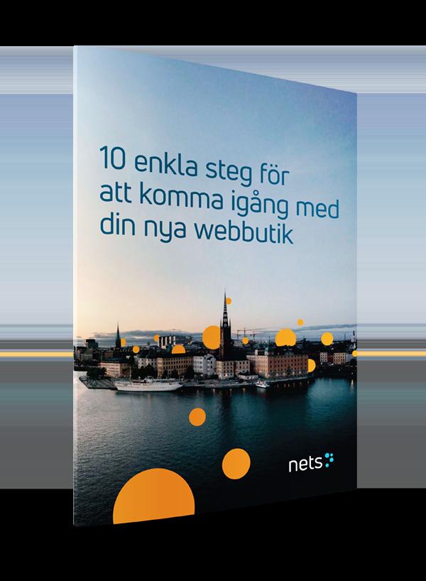 E-bog - 10 trin til at starte en ny webshop (SE)