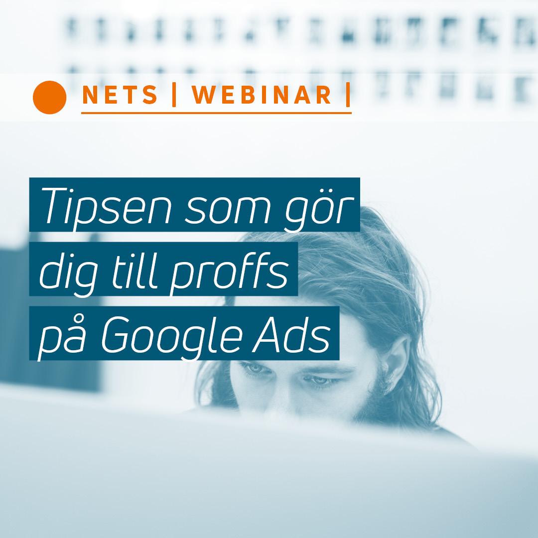 Tipsen som gör dig till proffs på Google Ads