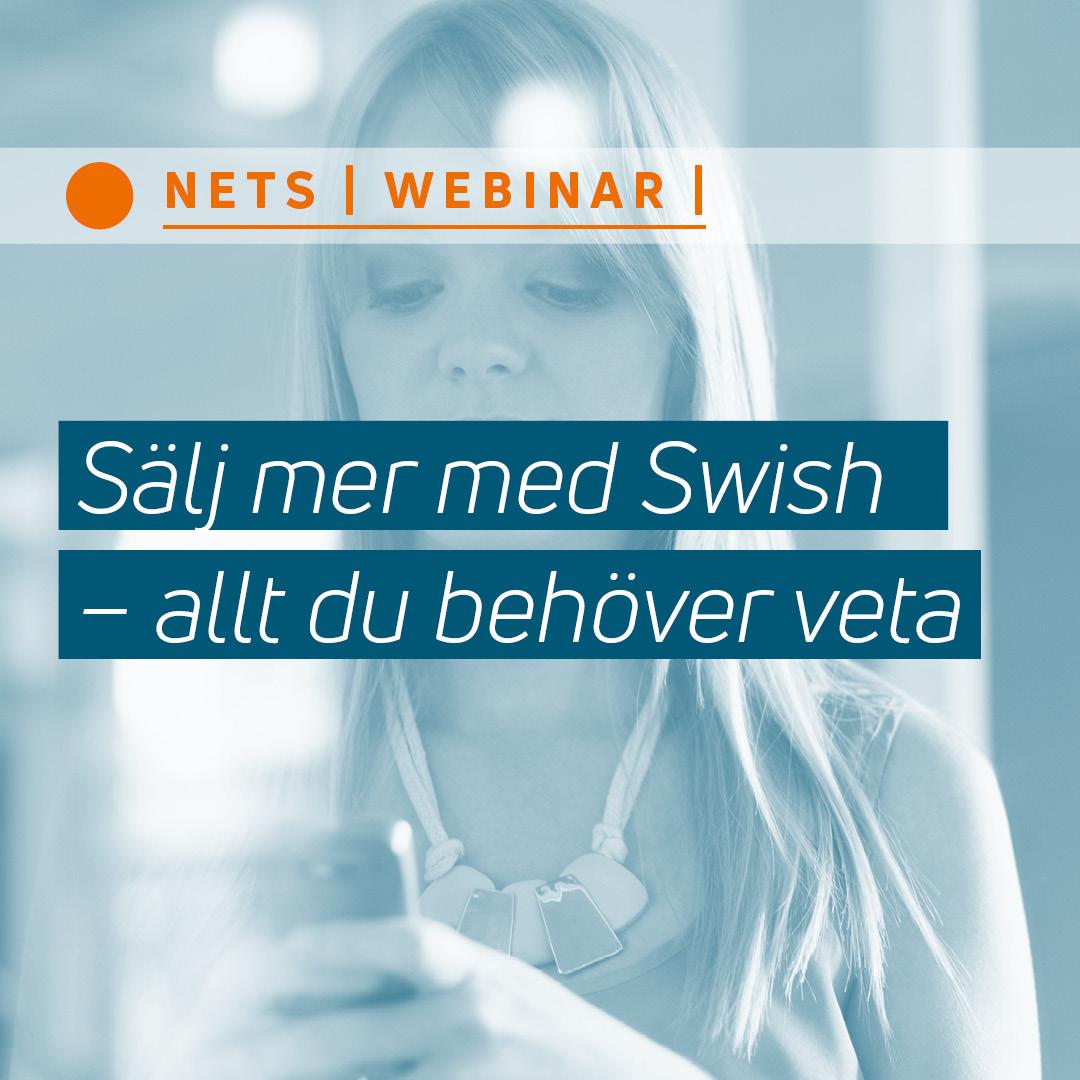 Sälj online med Swish